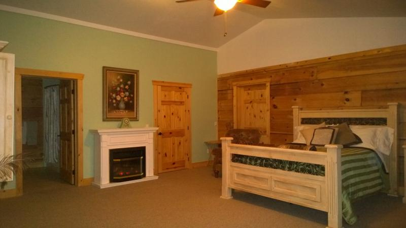 Green Room with Fireplace